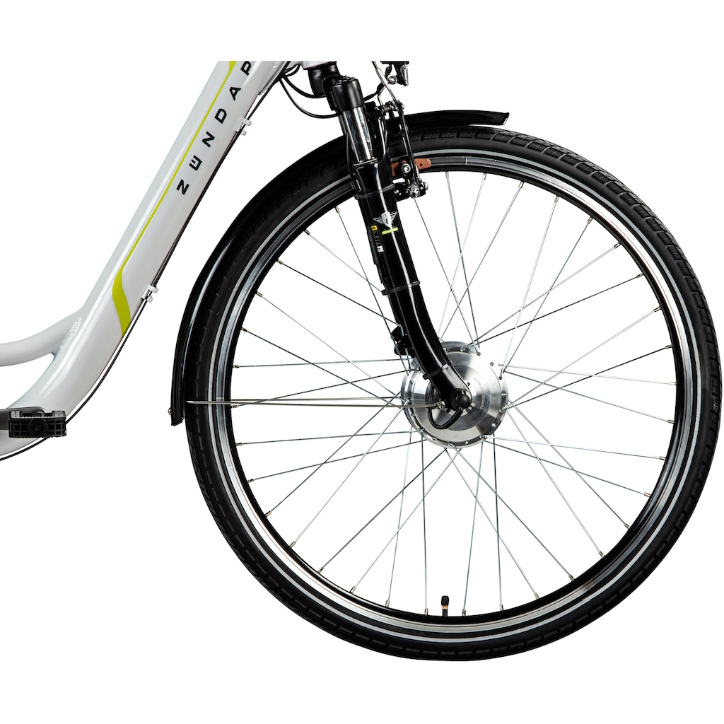 Zündapp E-Bike »Z510«, 3 Gang, Shimano, Nexus SC-3C41, Frontmotor 250 W