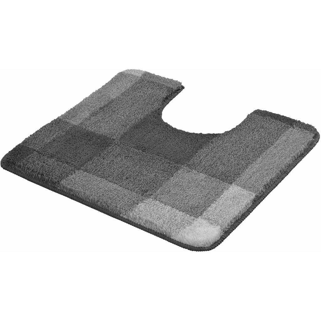 Kleine Wolke Badematte »Mix«, Höhe 20 mm, rutschhemmend beschichtet, fußbodenheizungsgeeignet