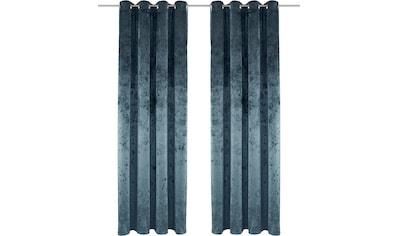 Vorhang, »Velvet«, my home, Ösen 1 Stück kaufen