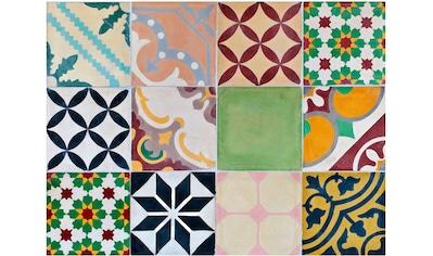 Contento Platzset »Mosaik, grün«, (Set, 4 St.), für innen und außen geeignet,... kaufen
