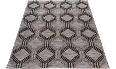 Teppich, »Road 3460«, Sehrazat, rechteckig, Höhe 1 mm, maschinell gewebt kaufen