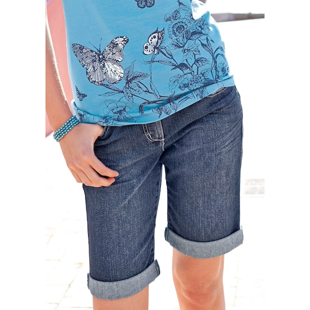 Aniston CASUAL Jeansbermudas
