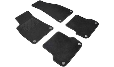 WALSER Passform-Fußmatten »Standard«, (4 St.), für Audi A3 Cabrio Bj 05/2008 - 02/2014 kaufen