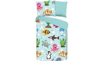 Kinderbettwäsche »Seaworld«, good morning kaufen