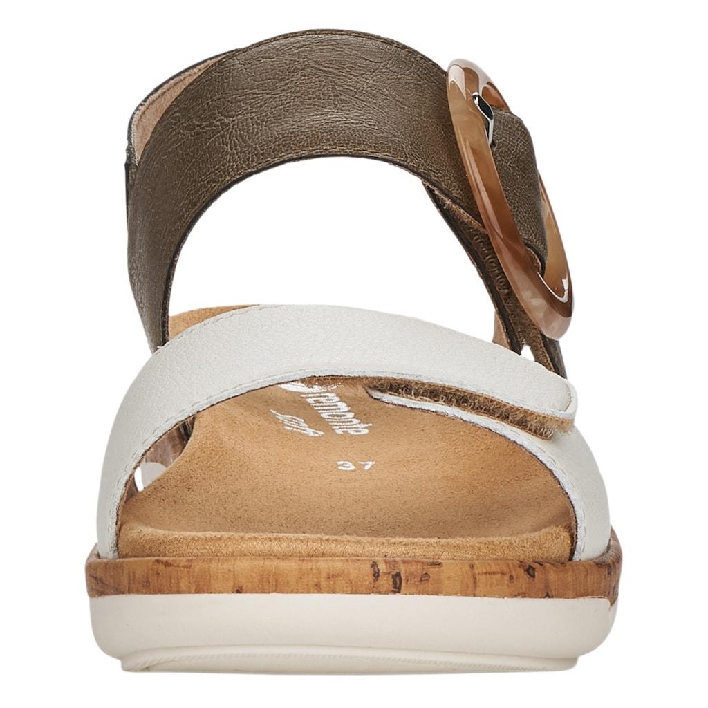 Remonte Sandale, mit auffälliger Schnalle