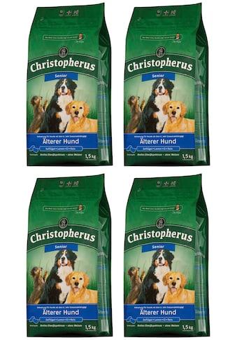 Christopherus Trockenfutter »Älterer Hund«, (4), 4 Beutel á 1,5 kg kaufen