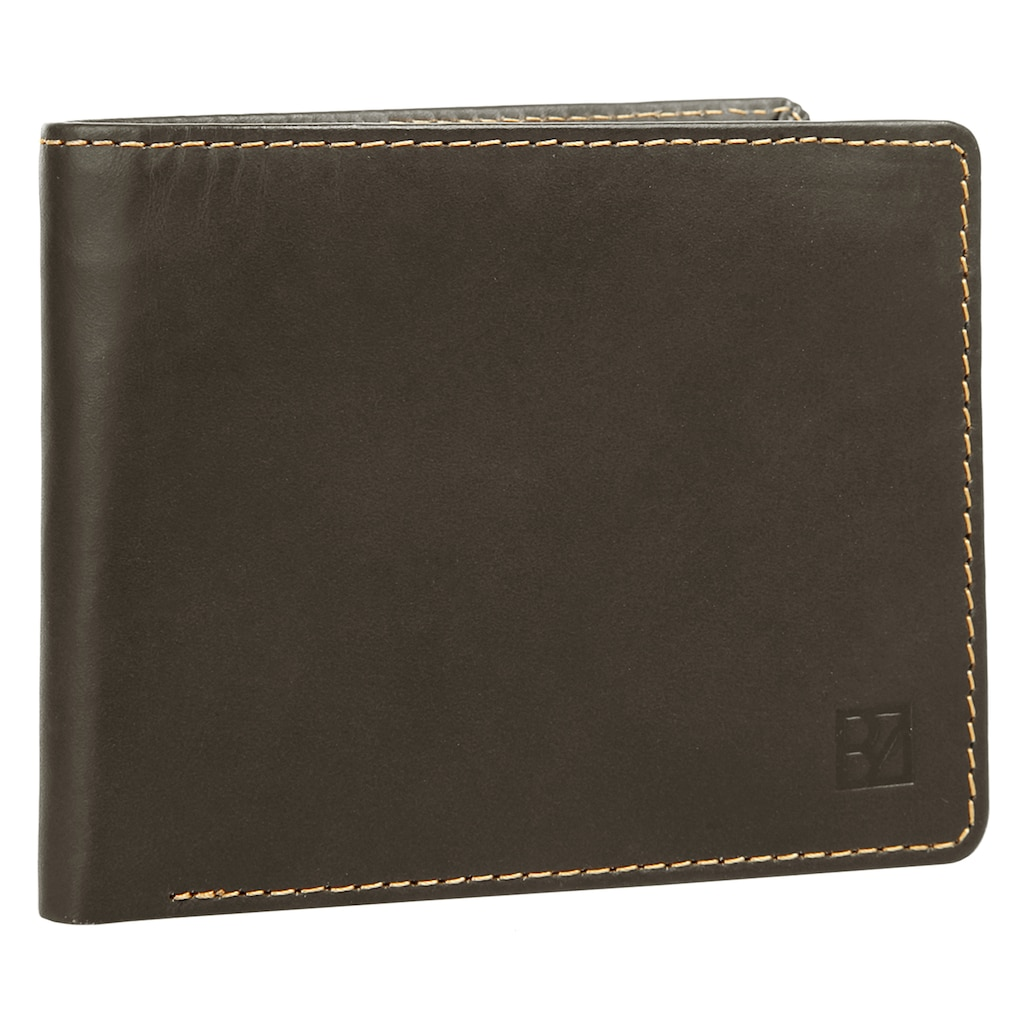 BODENSCHATZ Brieftasche »BICOLOUR«, Kreditkartenfächer