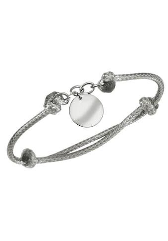 Firetti Armband mit Gravur »Gravur - Anhänger  -  mit persönlicher, kostenloser Gravur, hellgrau« kaufen