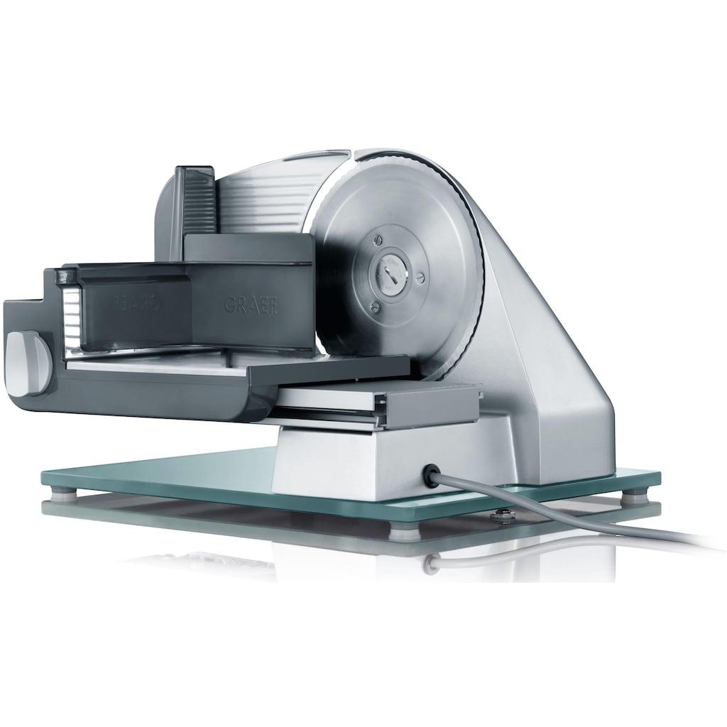 Graef Allesschneider »Classic C 22 Twin«, 170 W, Vollmetall, inkl Schinkenmesser im Wert von 29,99€ UVP