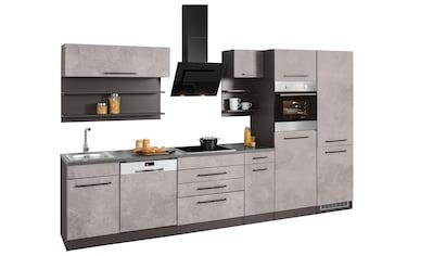 HELD MÖBEL Küchenzeile »Tulsa«, ohne E - Geräte, Breite 350 cm kaufen