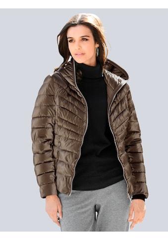 Alba Moda Steppjacke, in glänzender Ware kaufen