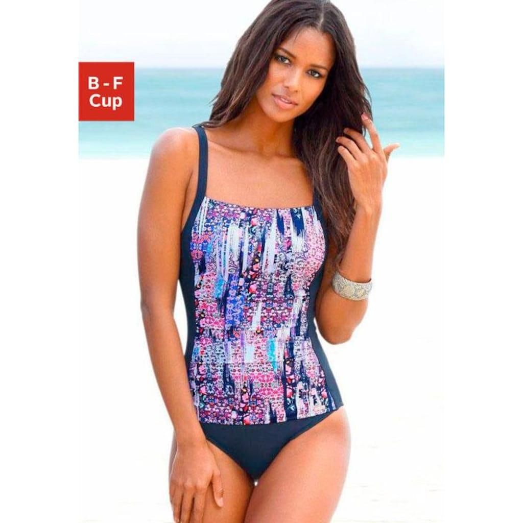 Sunseeker Badeanzug, mit bedrucktem Einsatz