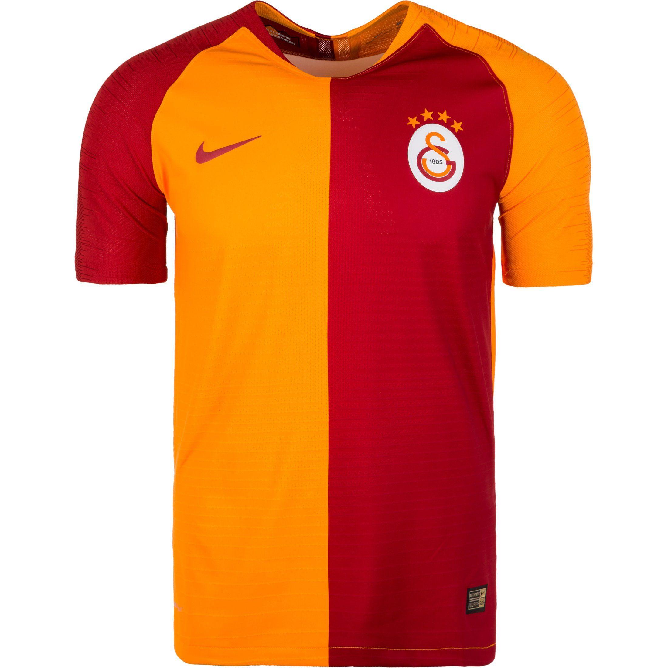 Nike Fußballtrikot Galatasaray Istanbul Vapor Match 18/19 Heim | Sportbekleidung > Trikots > Fußballtrikots | Orange | Trikot | Nike