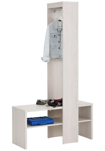 Home affaire Garderobenschrank »Harper«, mit zwei offenen Fächern, inklusive einer... kaufen