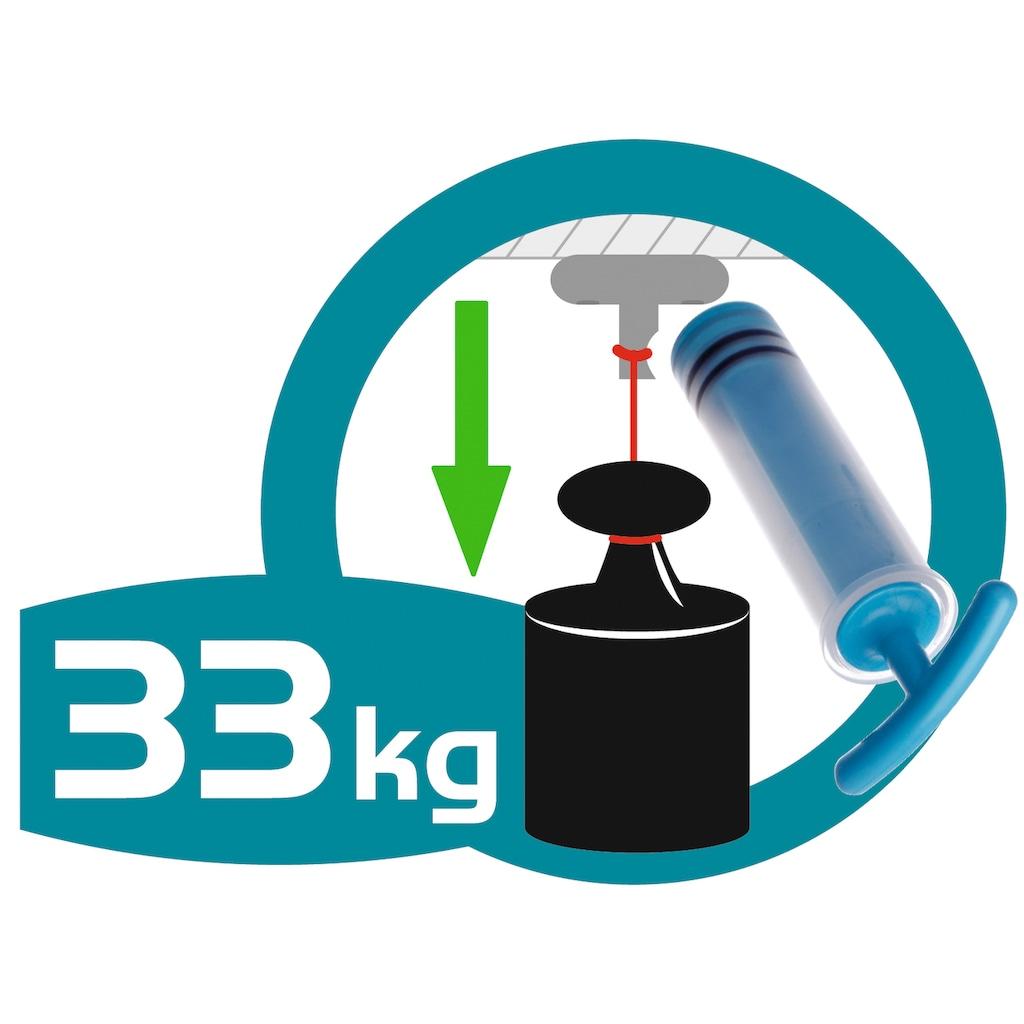 WENKO Handtuchhalter »Vacuum-Loc Quadro«, Badetuchstange Uno - Befestigen ohne bohren