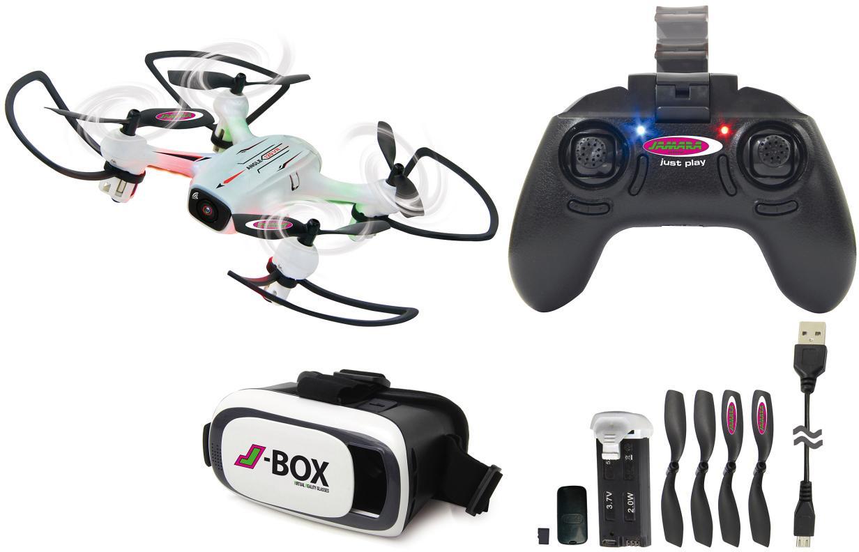 JAMARA Quadrocopter mit VR-Brille, »Angle 120 V...