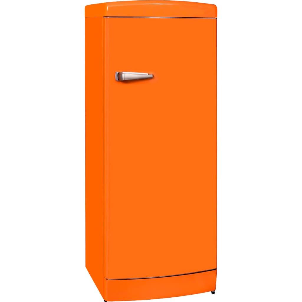 vonReiter Kühlschrank »RKS 270 RD A++«, RKS 270 RDA++OR, 159 cm hoch, 60 cm breit