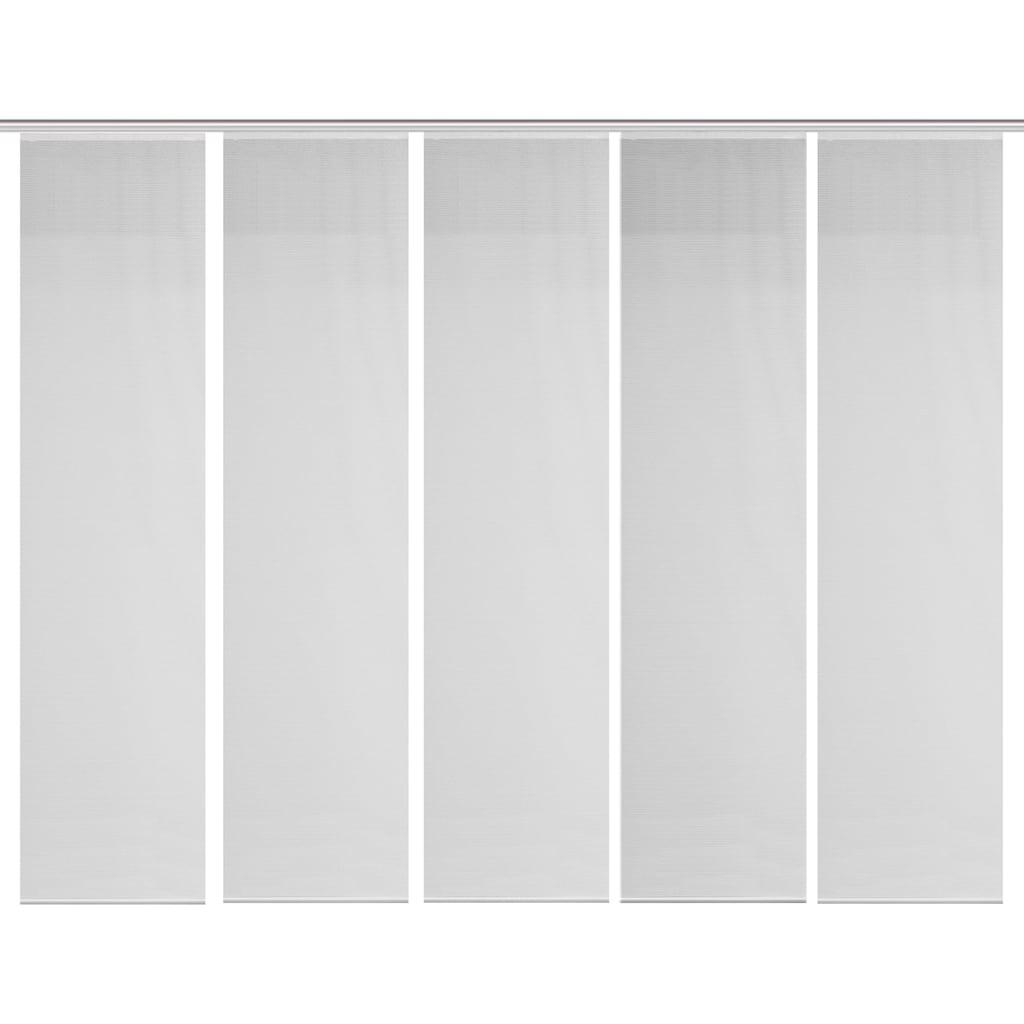 Vision S Schiebegardine »5ER SET ROM«, HxB: 260x60, Schiebevorhang 5er Set Uni