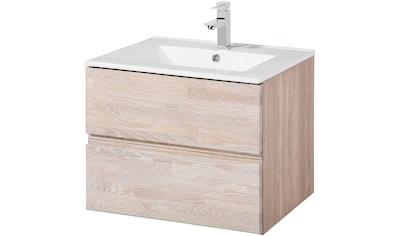 welltime Waschtisch »Cadiz«, Breite 60 cm, aus Massivholz kaufen