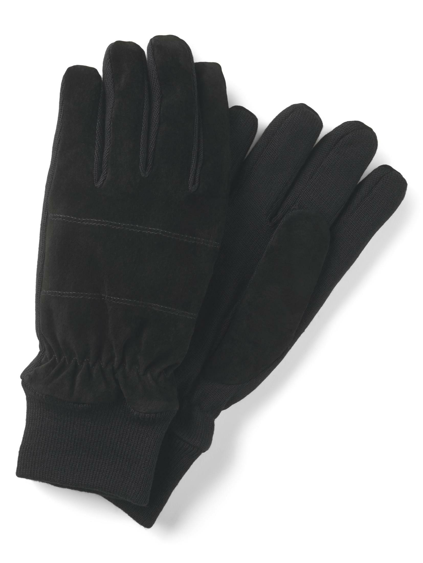 TOM TAILOR Baumwollhandschuhe Handschuhe mit Rippblenden | Accessoires > Handschuhe > Wollhandschuhe | Tom Tailor