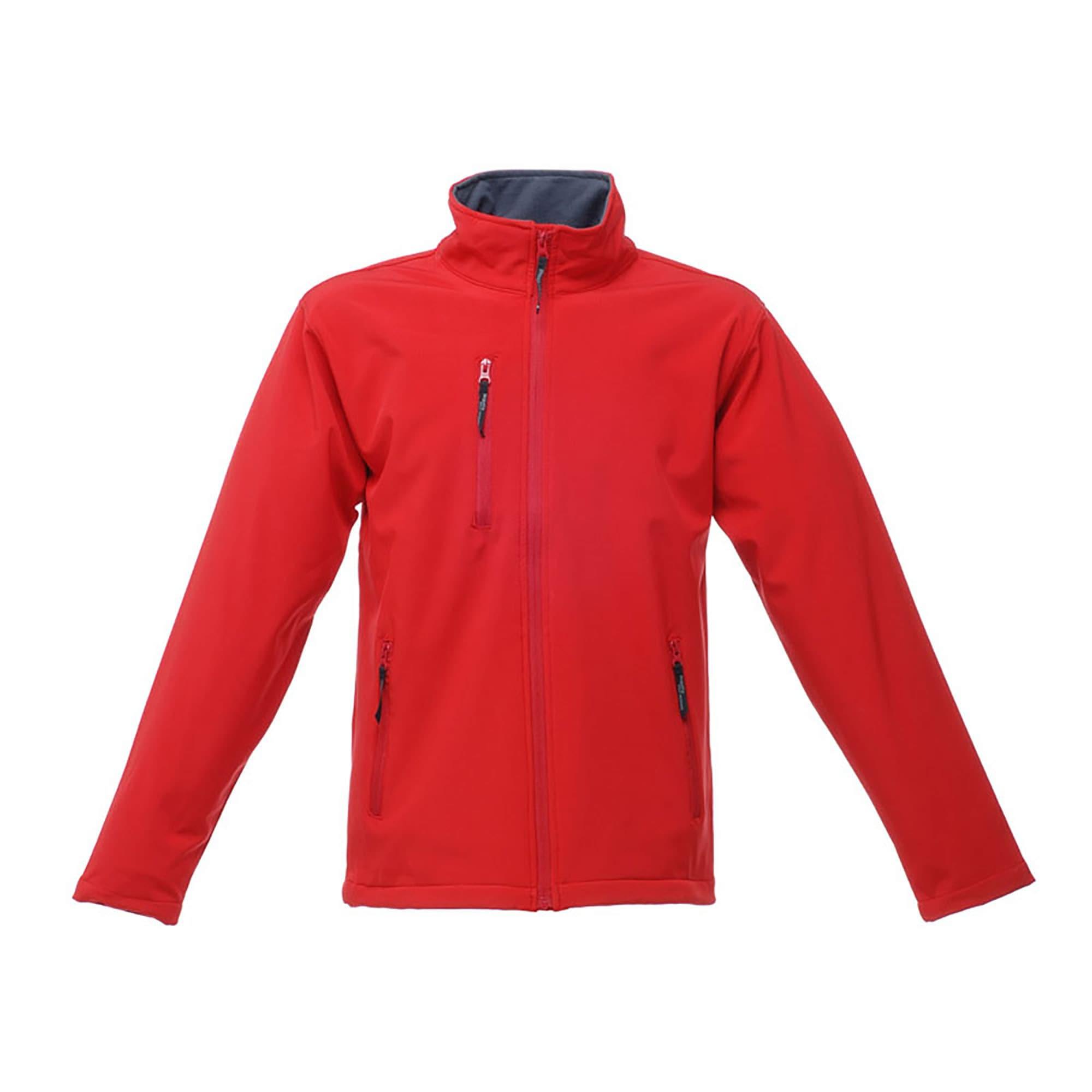 Regatta Softshelljacke Herren Hydroforce Softshell-Jacke 3-lagig wasserdicht atmungsaktiv | Sportbekleidung > Sportjacken > Softshelljacken | Rot | Polyester - Gummi | Regatta