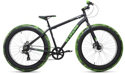 KS Cycling Fatbike »Crusher«, 7 Gang, Shimano, Tourney Schaltwerk, Kettenschaltung kaufen