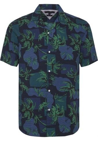 Tommy Hilfiger Hemd »PALM TREE PRINT SHIRT S/S« kaufen