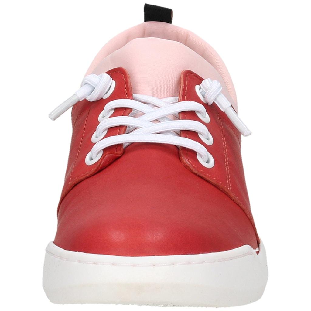 softinos Sneaker »Leder/Textil«