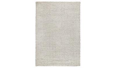 Dekowe Hochflor-Teppich »Enja«, rechteckig, 25 mm Höhe, Strickoptik, Wohnzimmer kaufen