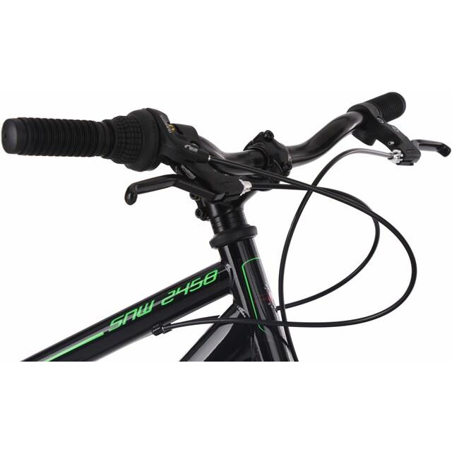 KS Cycling Fatbike »SNW2458«, 6 Gang Shimano Tourney Schaltwerk, Kettenschaltung