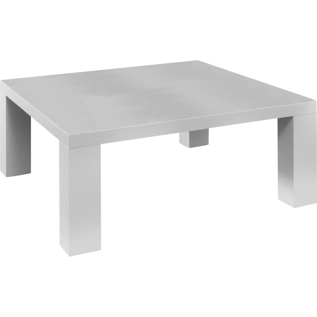 SalesFever Couchtisch, in moderner Hochglanz Optik, rechteckig oder quadratisch