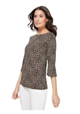 Lady Shirt mit attraktivem Leo - Muster kaufen