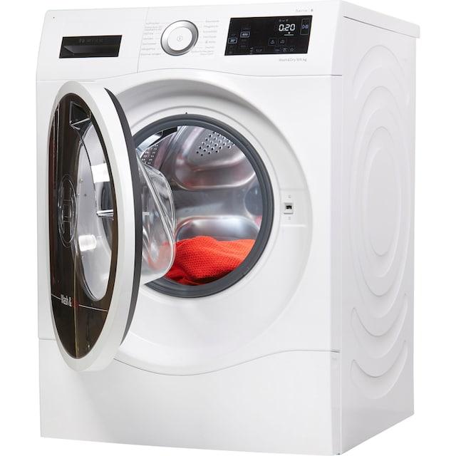 BOSCH Waschtrockner Serie 6 WDU28540, 9 kg / 6 kg, 1400 U/Min