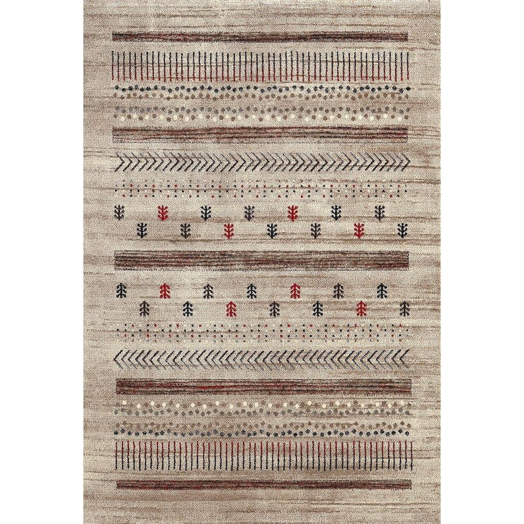 merinos Teppich »ETHNO«, rechteckig, 13 mm Höhe, Wohnzimmer