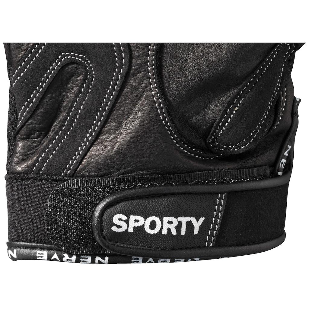 NERVE Motorradhandschuhe »Sporty«, mit Weitenverstellung