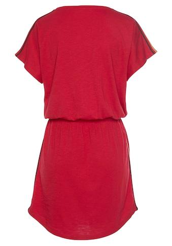 STOOKER WOMEN Jerseykleid, Fußball Fankleid mit schimmerndem Druck kaufen