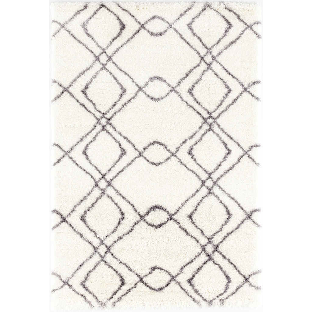 Festival Hochflor-Teppich »Carmella 510«, rechteckig, 45 mm Höhe, Besonders weich durch Microfaser, Wohnzimmer