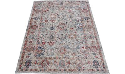 carpetfine Teppich »Flori«, rechteckig, 3 mm Höhe, Orient Vintage Look kaufen
