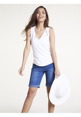 Shirttop mit V - Ausschnitt kaufen