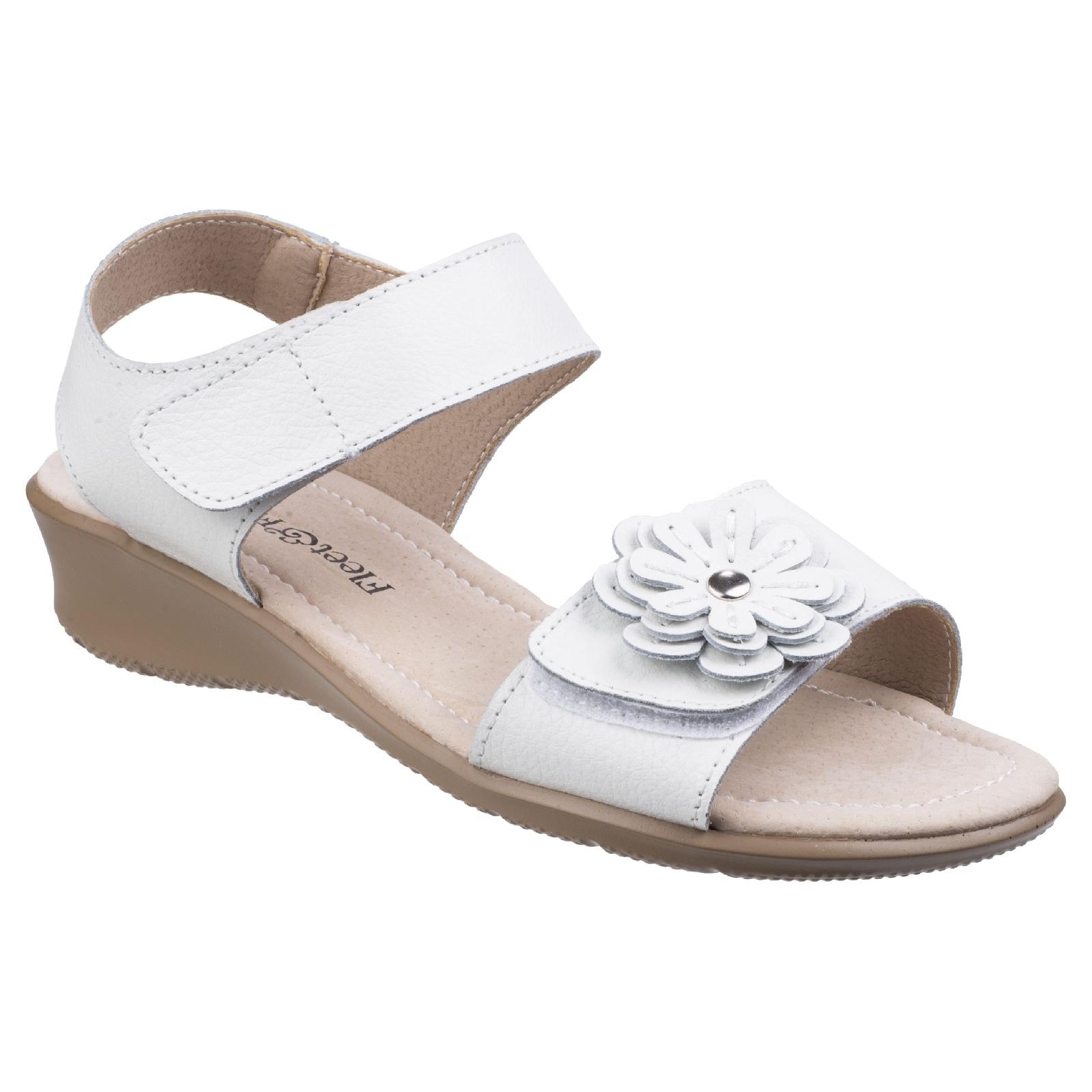 fleet & foster -  Sandale Damen Sapphire n mit Klettverschluss