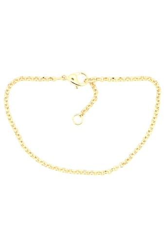 Firetti Edelstahlarmband »Erbskettengliederung, 2,4 mm breit, gelbgoldfarben«, Made in... kaufen