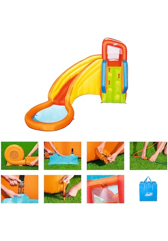 BESTWAY Planschbecken »H2OGO!™ Wasserpark Splash Tower«, BxLxH: 337x366x241 cm, mit Dauergebläse kaufen
