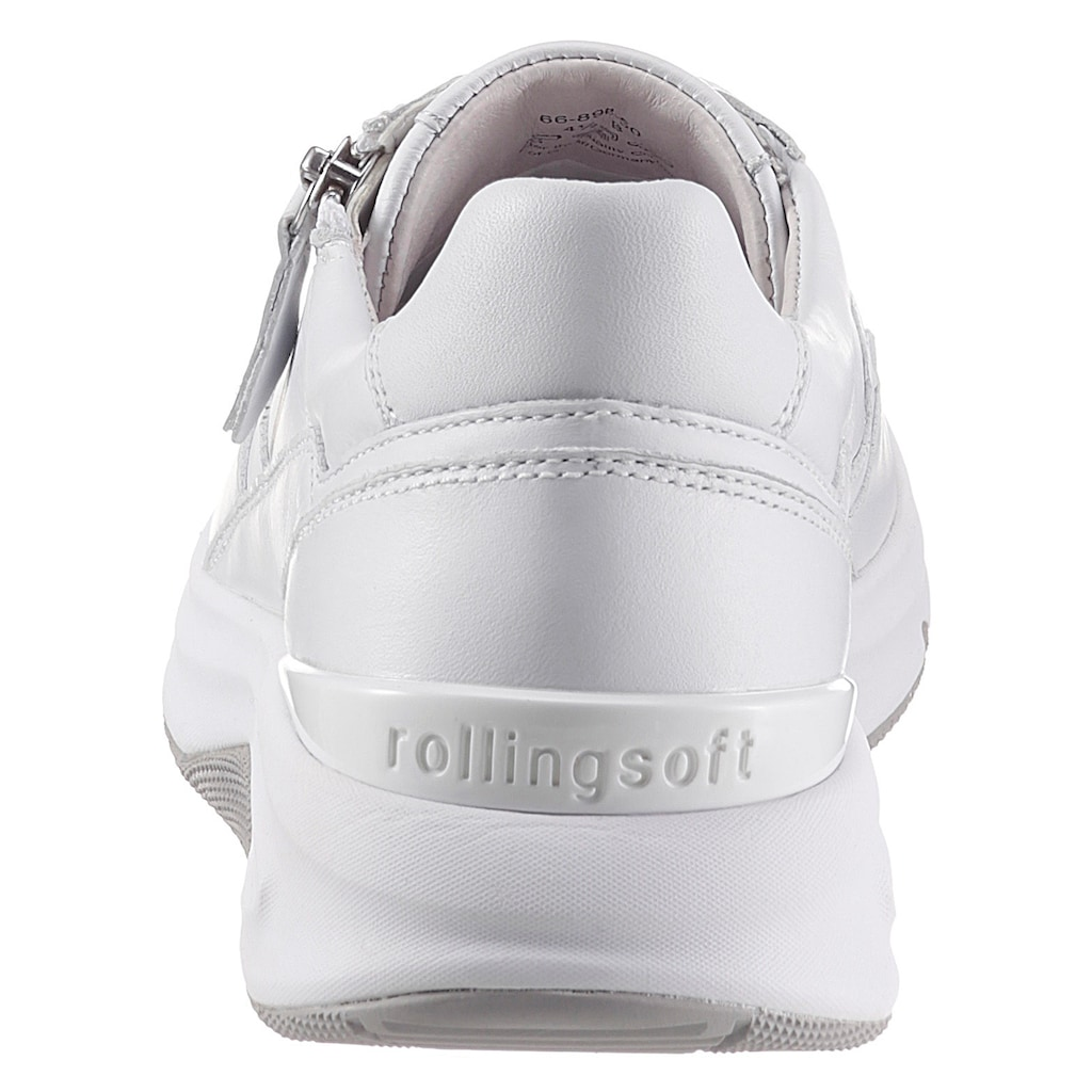 Gabor Rollingsoft Keilsneaker, mit Außenreißverschluss