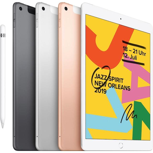 Apple »10.2 iPad Wi-Fi Cellular 32GB (2019)« Tablet (10,2'', 32 GB, iOS, 4G (LTE))