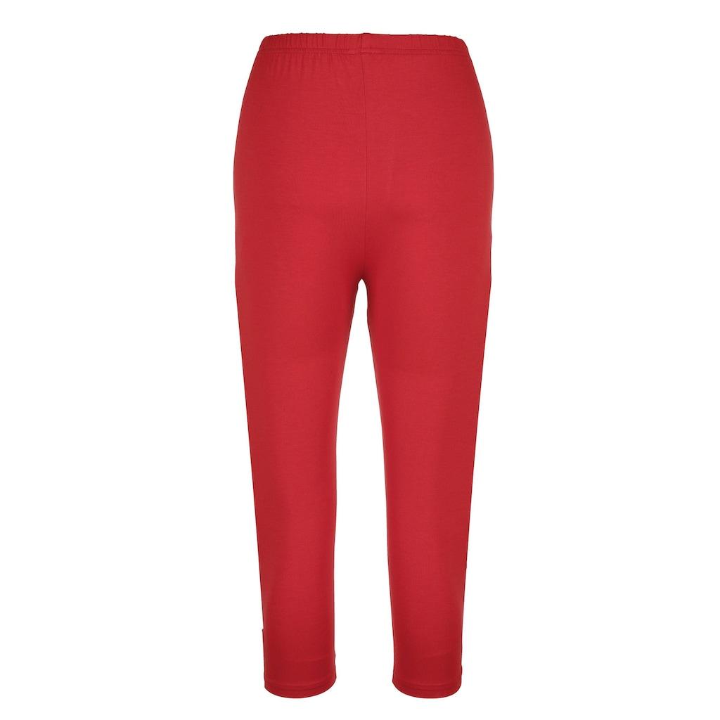 Alba Moda Capri-Leggings in elastischer Qualität