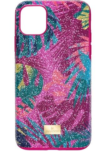 Swarovski Smartphone - Hülle »Tropical Smartphone Schutzhülle mit integriertem Stoßschutz, iPhone® 11 Pro Max, mehrfarbig, 5533963« kaufen