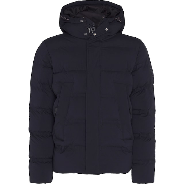 TOMMY HILFIGER Steppjacke »HOODED STRETCH BOMBER«