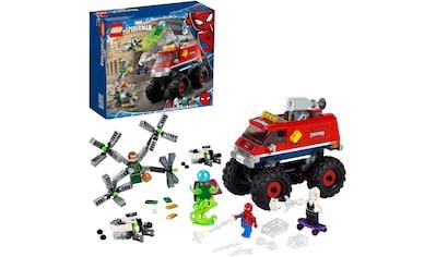 LEGO® Konstruktionsspielsteine »Spider-Mans Monstertruck vs. Mysterio (76174), LEGO®... kaufen