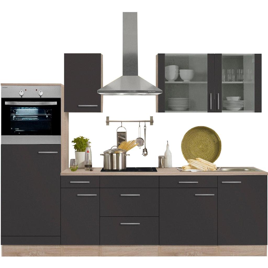 OPTIFIT Küchenzeile »Kalmar«, ohne E-Geräte, Breite 270 cm