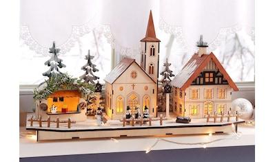 Home affaire Weihnachtsdorf, aus Holz kaufen